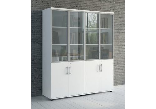 Mdd Basic armoire verrouillable en verre