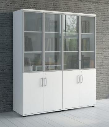 mdd basic armoire verrouillable en verre brand new office. Black Bedroom Furniture Sets. Home Design Ideas