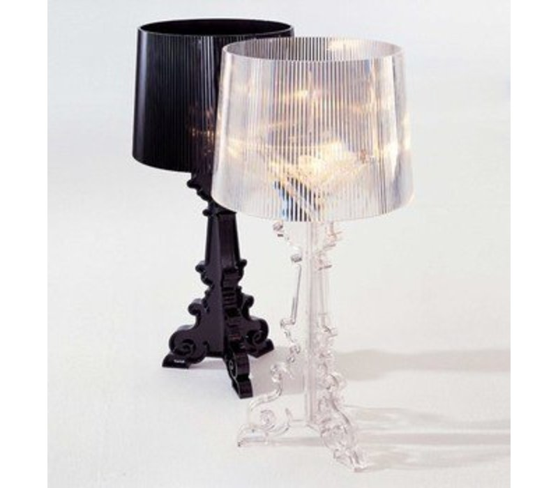 Bourgie Lampe Transparentnoir Brand New Office