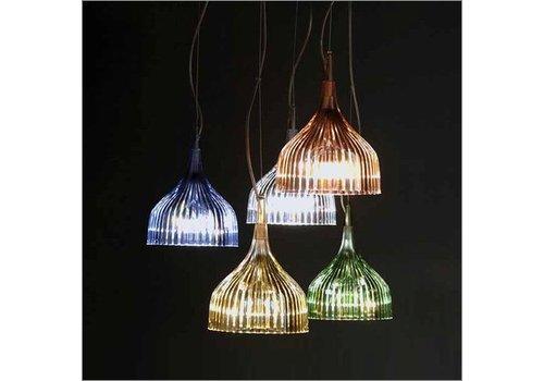 Kartell é hanglamp in 7 verschillende kleuren