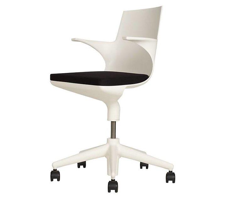 Kartell chaise de bureau spoon chair brand new office for Bureau kartell