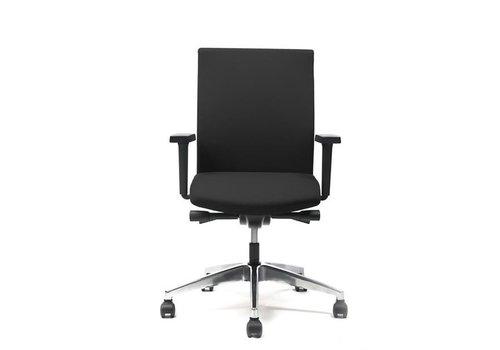 BNO Bureaustoel met armleuningen - zwart