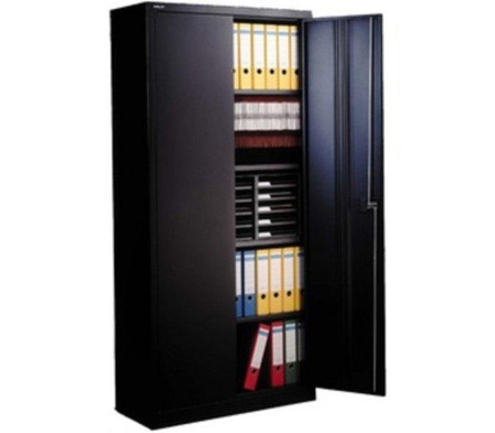 armoire portes en metal haute 195cm brand new office. Black Bedroom Furniture Sets. Home Design Ideas