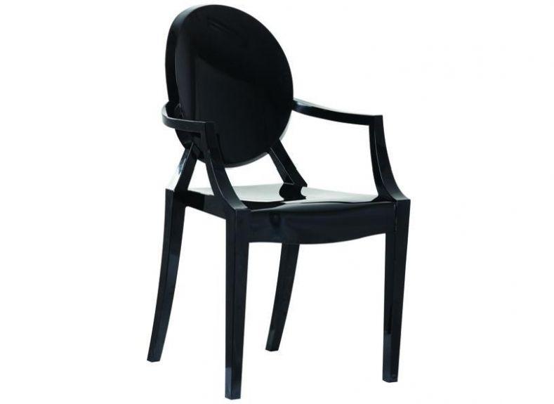louis ghost chaise en noir ou blanc brand new office. Black Bedroom Furniture Sets. Home Design Ideas
