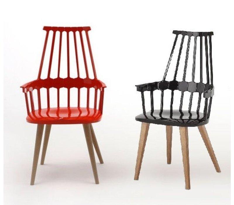 chaise avec pied en bois beautiful uni chaise en avec. Black Bedroom Furniture Sets. Home Design Ideas