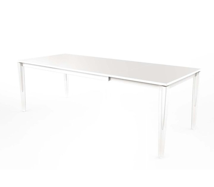 Magis table calippo table rallonge noir ou blanc brand for Table rallonge noire