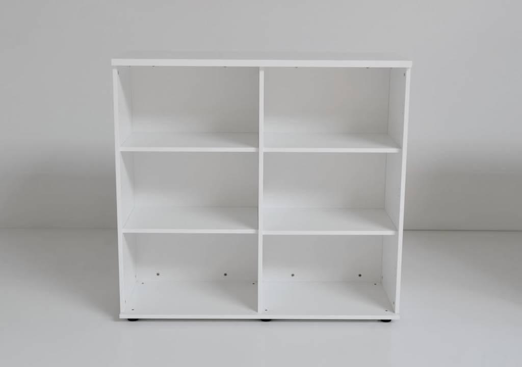 Keuken Kasten Melamine : MDD Basic Open kast 113cm dubbel Melamine ...