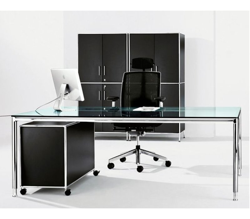 s line bureau van 180 en 200cm brand new office. Black Bedroom Furniture Sets. Home Design Ideas