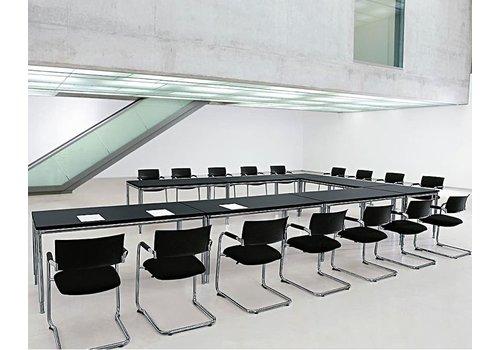 Bosse S-Line bureau en melamine de 180 - 200cm