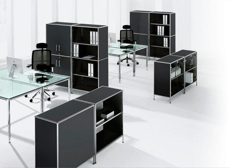 bosse s line bureau of meetingtafel vierkant 100cm. Black Bedroom Furniture Sets. Home Design Ideas
