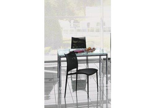 Bosse S-Line bureau of meetingtafel, vierkant 100cm