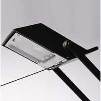 Tizio Classic bureaulamp zwart-wit-grijs