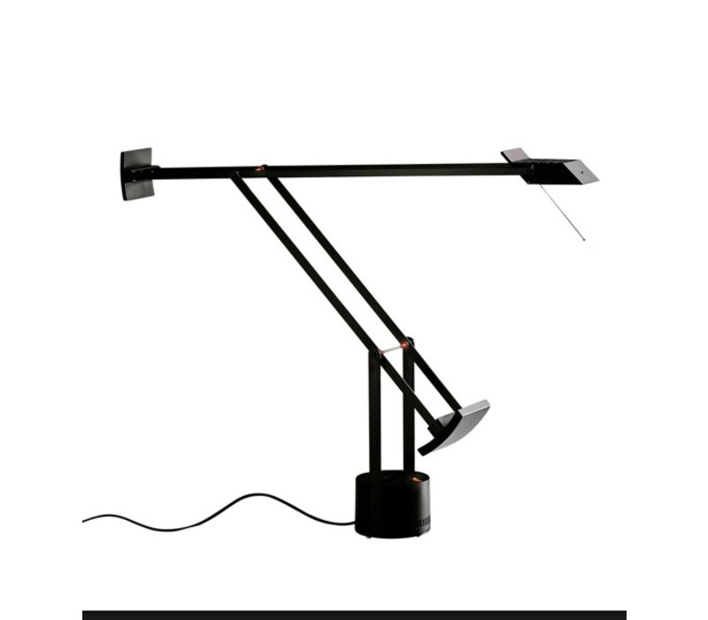 Tizio Classic noir, LED lampe de bureau