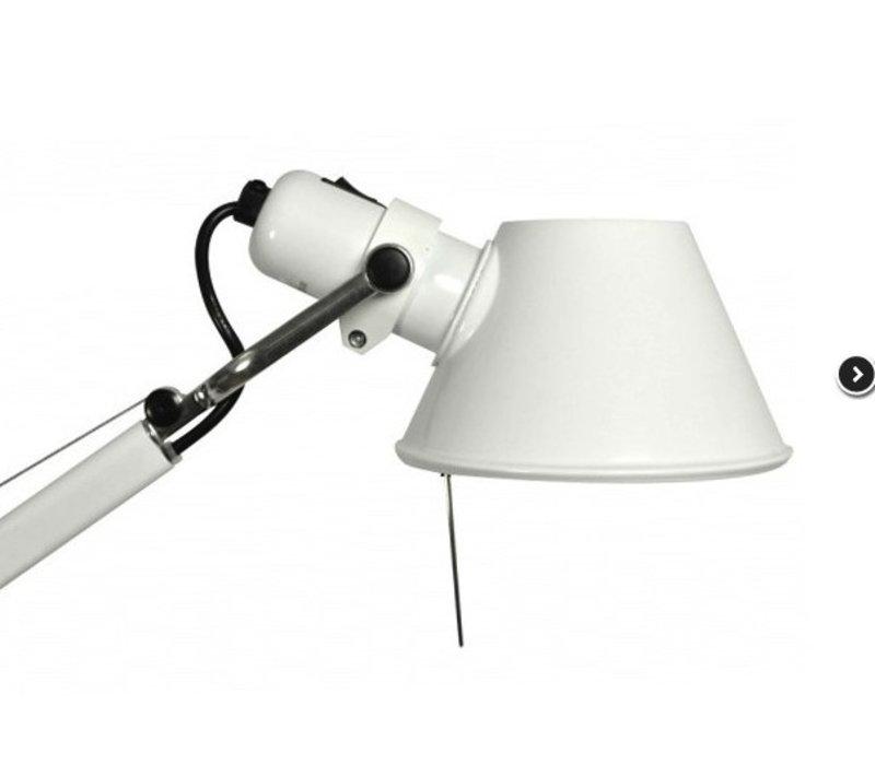 Tolomeo lampadaire Terra - Halo/DEL