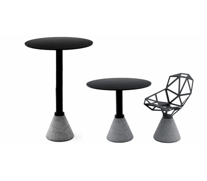 table haute one bistrot brand new office. Black Bedroom Furniture Sets. Home Design Ideas
