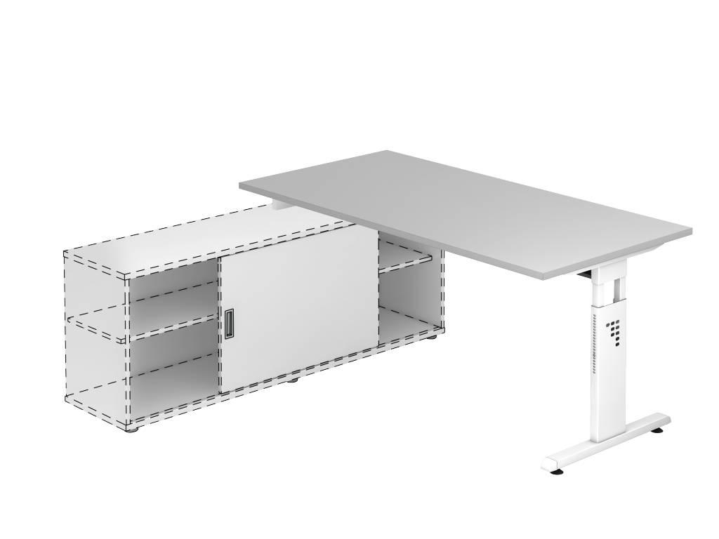 Bureau officina avec meuble porteur brand new office for Meuble bureau top office