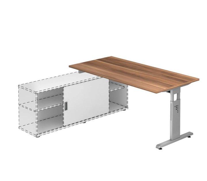 Bureau officina avec meuble porteur brand new office for Meuble bureau office depot