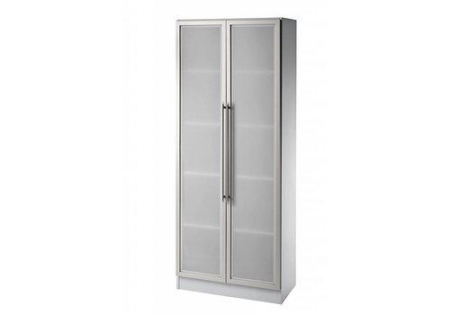 BNO Officina kast met glazen deuren, 200cm