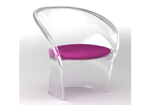 Magis Chaise Flower transparent