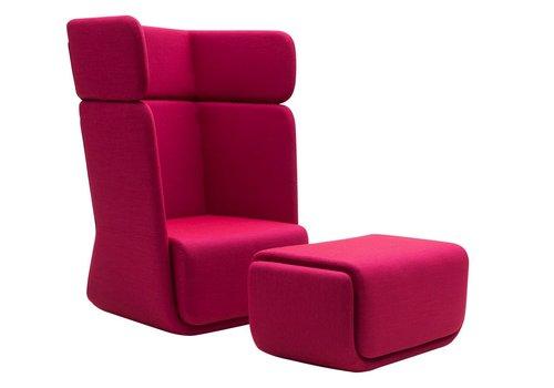 Softline Basket fauteuil, hoog/laag
