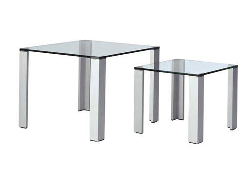 Lourens Fisher Aqua table carrée