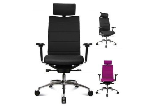 Wagner ErgoMedic 100-4 bureaustoel met hoofdsteun