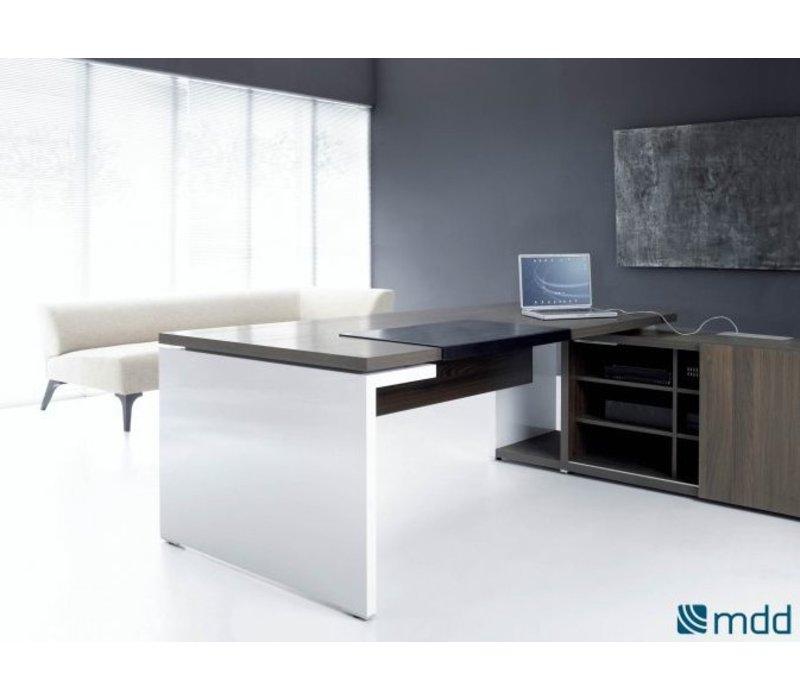 Bureau mito avec meuble porteur brand new office for Meuble bureau office depot
