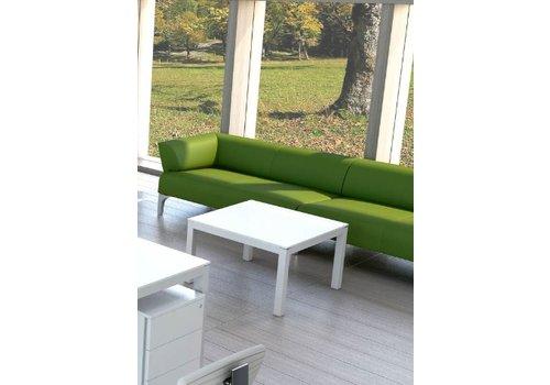 Mdd Impuls table de salon finition en verre/mélamine