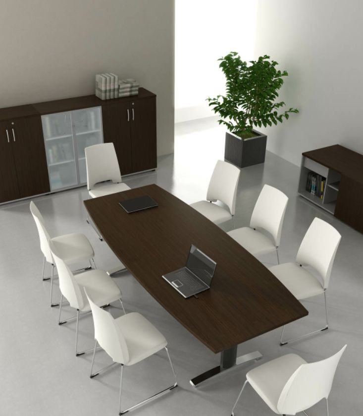 table de conf rence ergonomic brand new office. Black Bedroom Furniture Sets. Home Design Ideas