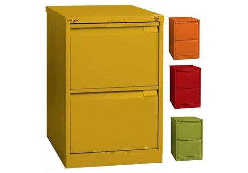Bisley Armoire à rangement suspendu - 2 tiroirs -Color