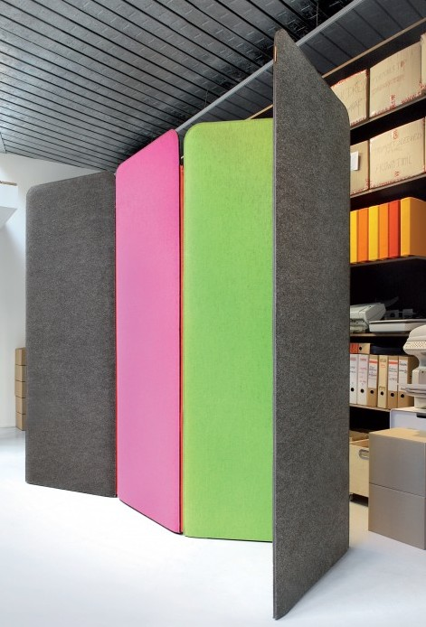 BuzziScreen Scheidingswand 150cm hoog - Brand New Office