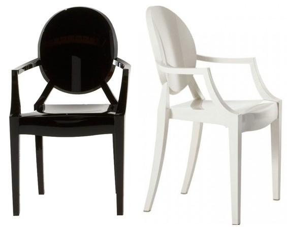 Louis Ghost Stoel : Louis ghost stoel