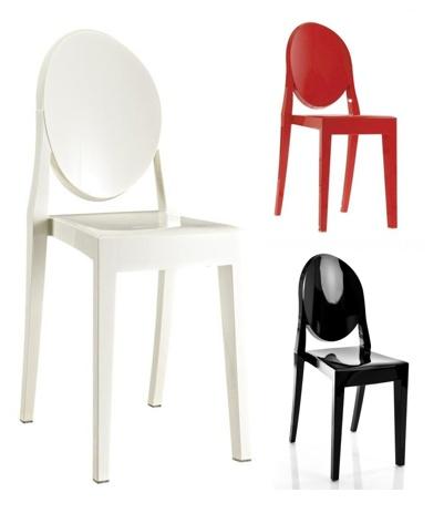 kartell victoria ghost stoel ondoorzichtig brand new office. Black Bedroom Furniture Sets. Home Design Ideas