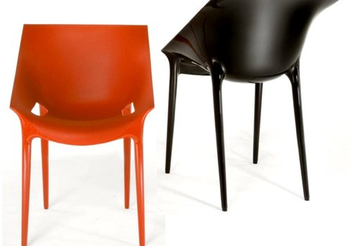 Kartell Chaise Dr. Yes avec accoudoirs