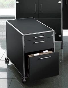 bosse s line caisson roulettes dossier suspendus brand new office. Black Bedroom Furniture Sets. Home Design Ideas
