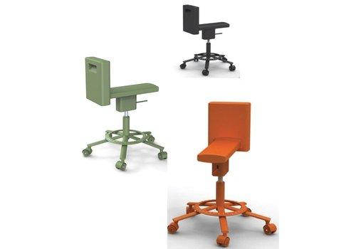 Magis 360° Swivel bureaustoel met wielen
