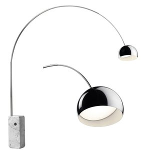 flos arco lampadaire led brand new office. Black Bedroom Furniture Sets. Home Design Ideas