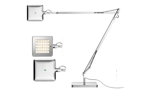 FLOS Kelvin LED bureaulamp chroom