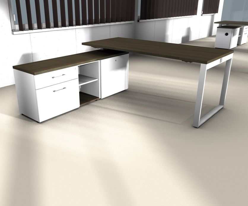 Yan z bureau avec meuble bas brand new office - Meuble bas de bureau ...