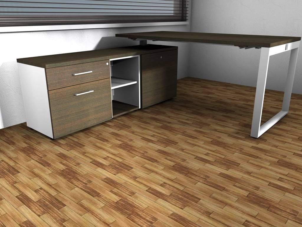 Yan z bureau avec meuble bas brand new office for Meuble bas bureau