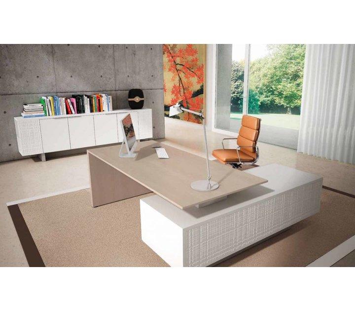 Modi bureau avec meuble porteur brand new office for Meuble bureau office depot
