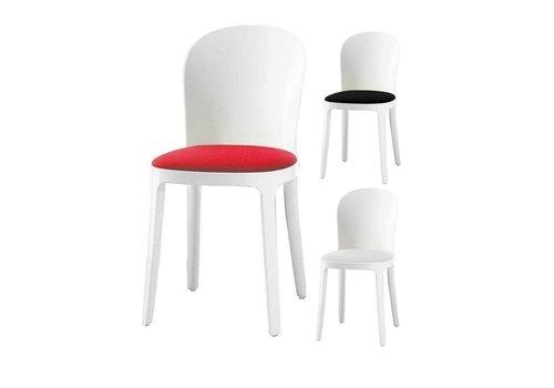 Magis Vanity chaise avec cadre en blanc