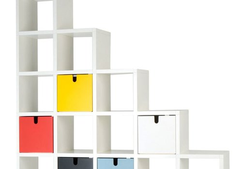 Kartell Polvara bibliothèque composable