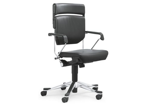 Giroflex 33 bureaustoel, leder