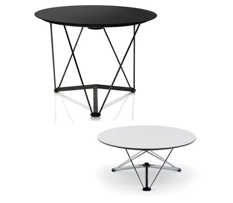 magis lem table ronde r glable en hauteur brand new office. Black Bedroom Furniture Sets. Home Design Ideas