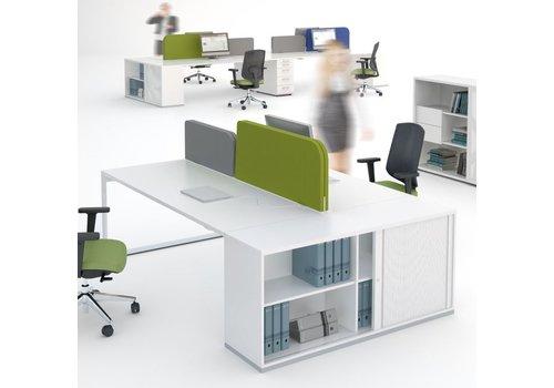 Mdd Yan Z îlots bureau avec armoire