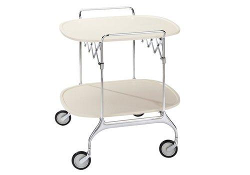 Kartell Gastone opvouwbare trolley