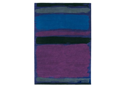 Brink & Campman Tapis SANDERSON Abstract-Cobalt