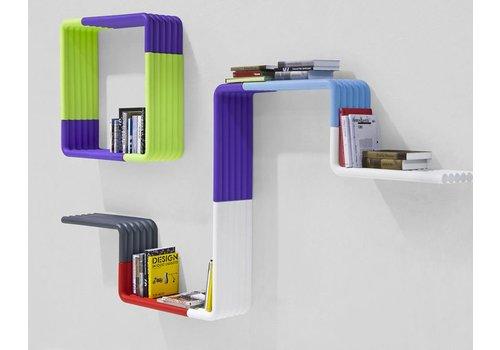 B-Line Liquorice moduleerbaar boekenrek