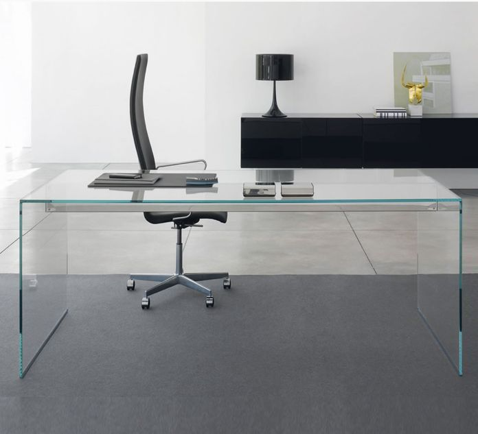 gallotti radice air desk bureau avec retour brand new office